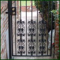 Wrought Iron Driveway gate, Galt